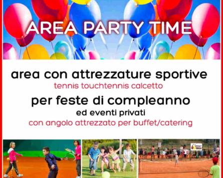AREA PARTY TIME